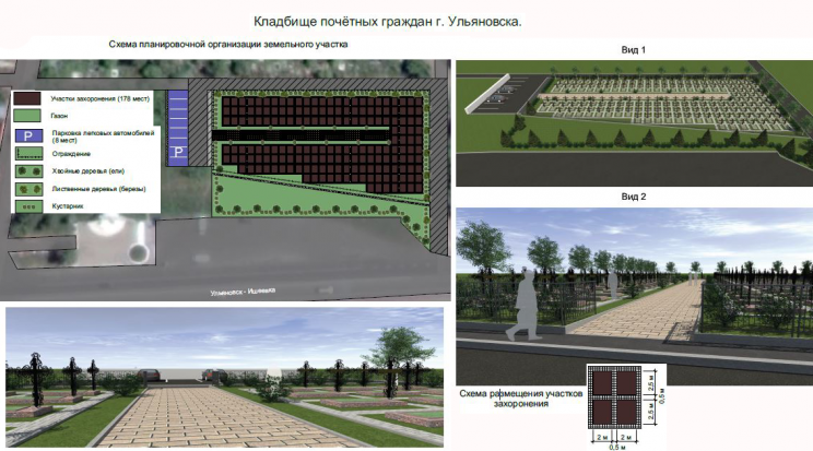 кладбище для почётных ульяновцев