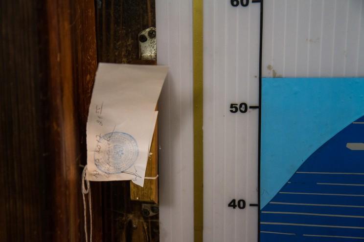 Опечатанный кабинет в Ундоровском палеонтологическом музее.