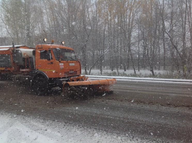 снег в Ульяновске