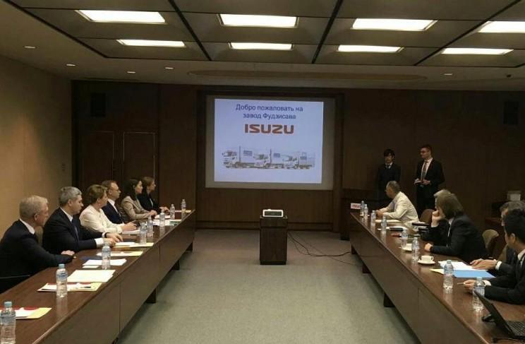 Губернатор Сергей Морозов с делегаией в Японии 2