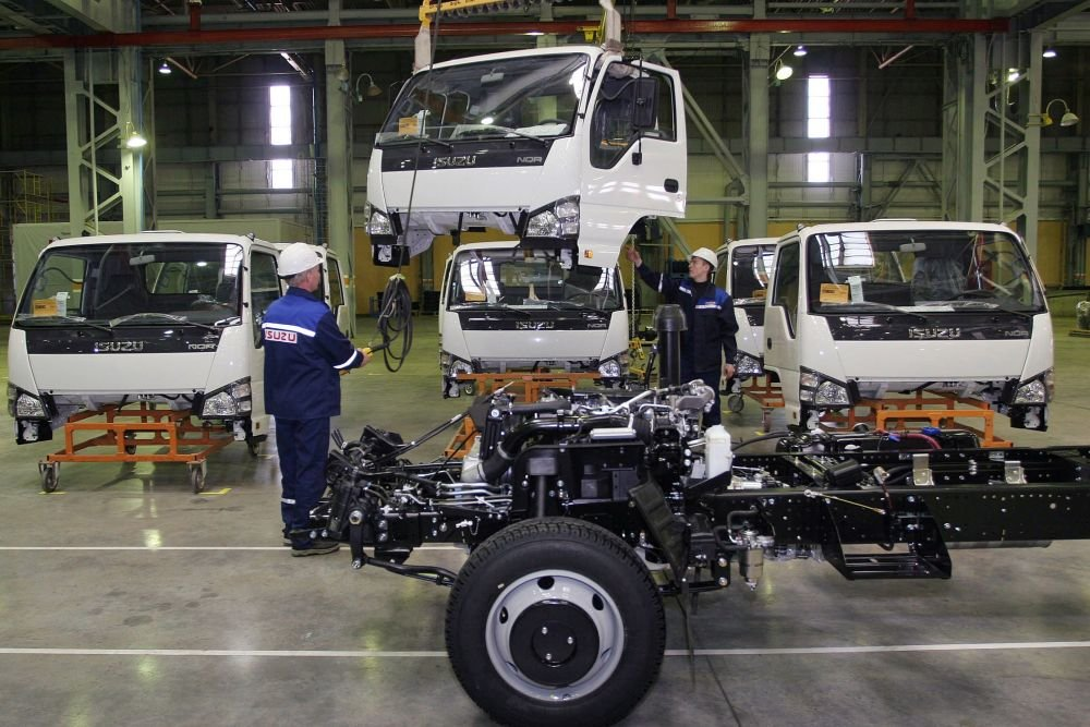 Isuzu начнет сборку нового трехтонного грузовика в Ульяновске в 2018 году