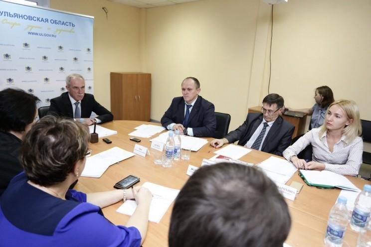 Сергей Морозов на встрече с АНО ЦСИ УО 13 ноября 2017