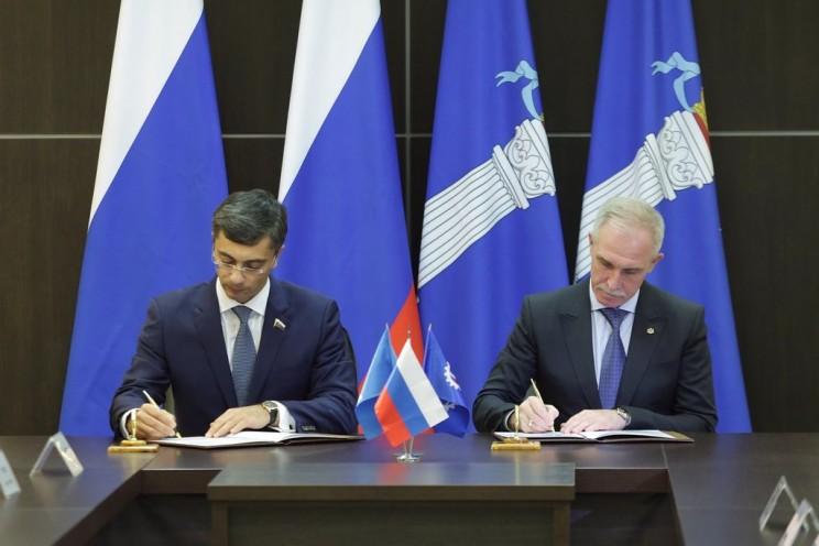 Владимир Гутенев (слева) и Сергей Морозов (справа)