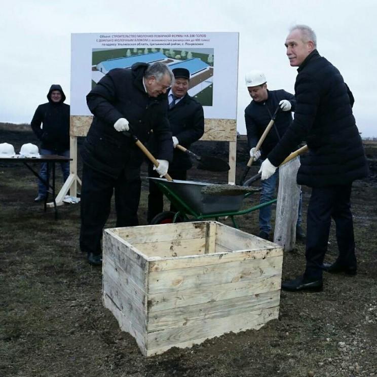 Животноводческий комплекс на 200 голов в селе Покровское Цильнинского района - 1