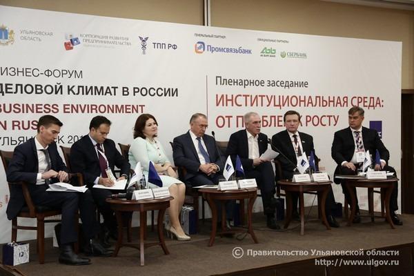 IX всероссийский бизнес-форум «Деловой климат в России», Сергей Морозов, Сергей Рябухин