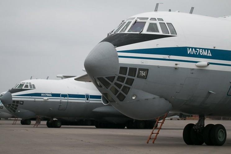 ИЛ-76; В Ульяновск прибыли самолеты возрожденного авиаполка ВТА - 1