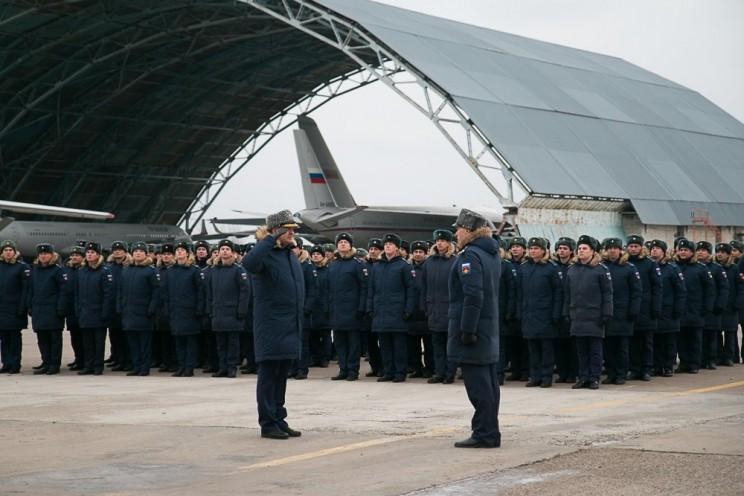 В Ульяновск прибыли самолеты возрожденного авиаполка ВТА - 2