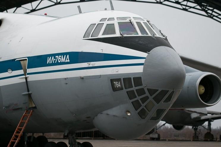 ИЛ-76; В Ульяновск прибыли самолеты возрожденного авиаполка ВТА - 3