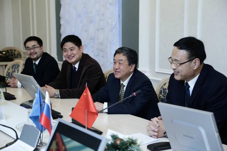 Встреча с китайской делегацией 18 12 2017 - 2