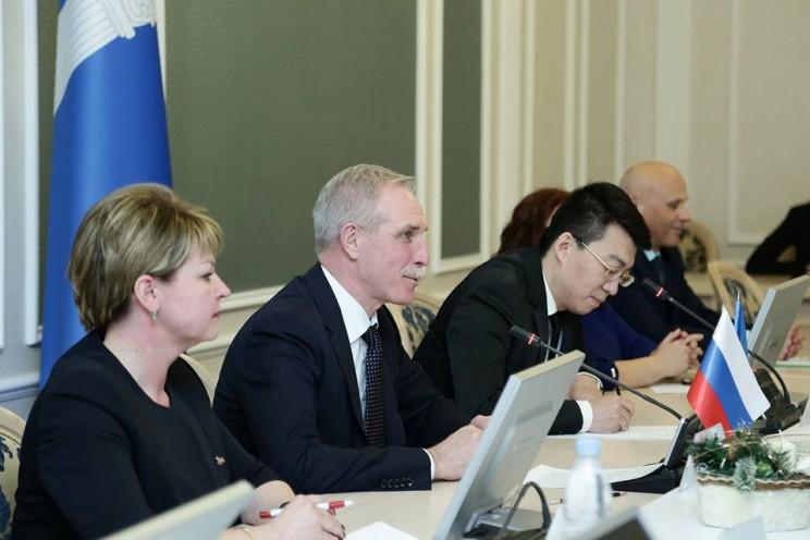 Встреча с китайской делегацией 18 12 2017