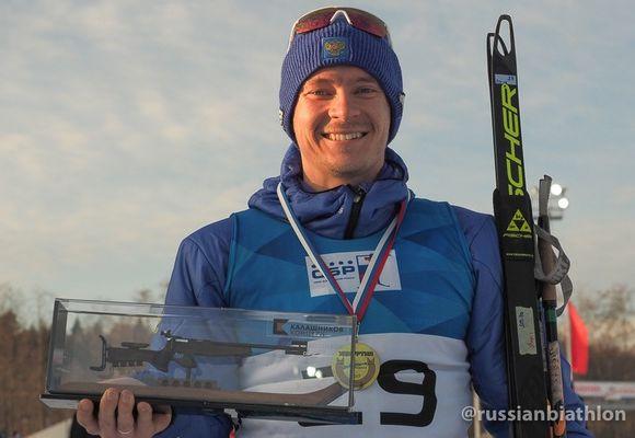 Юрий Шопин победил в индивидуальной гонке на «Ижевской винтовке»