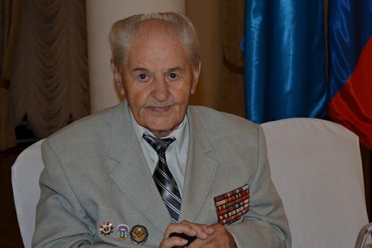 почетный гражданин Ульяновска, ветеран Великой Отечественной войны Василий Александрович Уланов