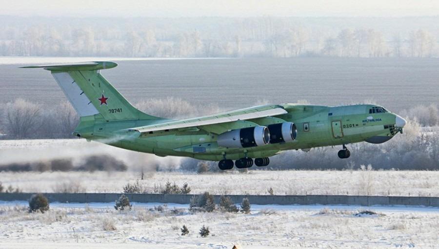 Летный образец топливозаправщика Ил-78М-90А совершил первый полет