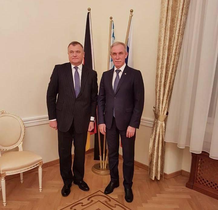 Сергей Ганжа и Сергей Морозов