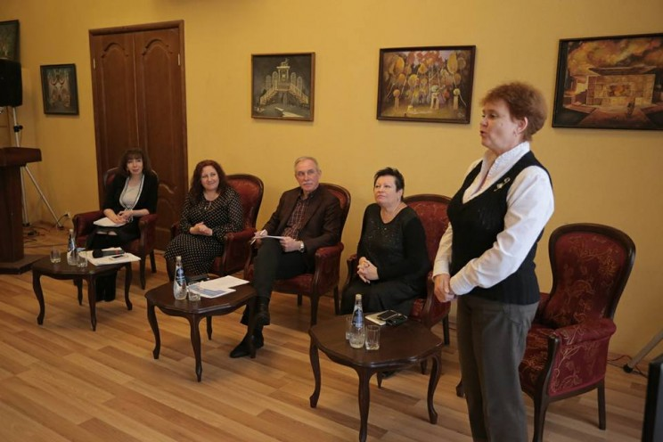 Сергей Морозов на встрече с молодыми актерами 1