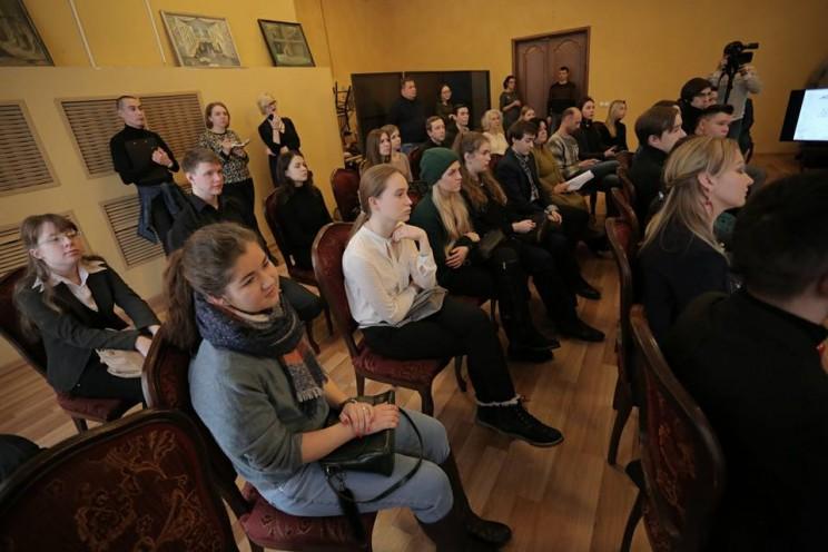Сергей Морозов на встрече с молодыми актерами 2