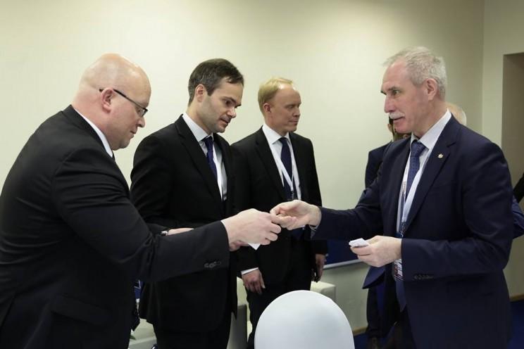 Сергей Морозов рассказал о встрече с министром внешней торговли и развития Финляндии Кайем Мюккяненом на Гайдаровском форуме 3