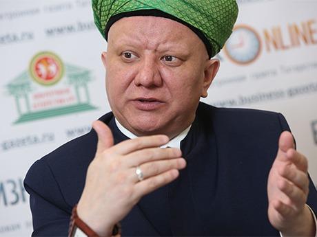председатель Духовного собрания мусульман России, муфтий Москвы и член Общественной палаты Альбир Крганов