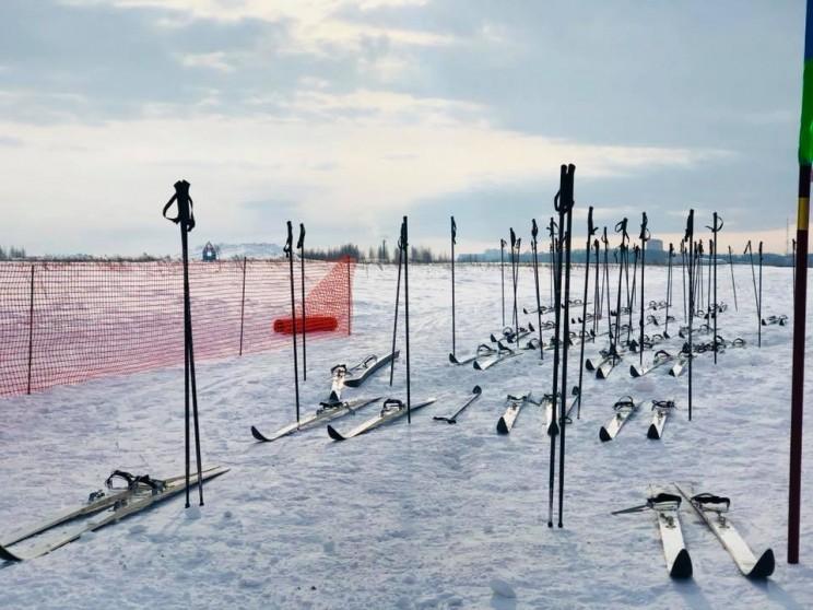 Десантники отправились в сверхдальний лыжный переход, посвященный 100-летию Красной армии