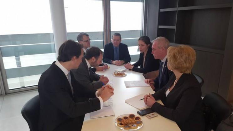 Генеральный директор CDC IC Лоран Вижье встретился с губернатором Ульяновской области