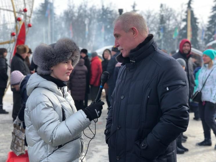 Губернатор Ульяновской области Сергей Морозов, 18 февраля 2018 года