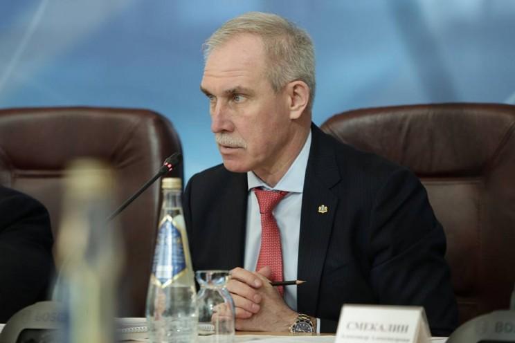 Губернатор Ульяновской области Сергей Морозов, 20 февраля 2018 года