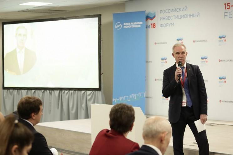 Губернатор Ульяновской области принял участие в дискуссии Моногорода проектируем будущее на Сочинском инвестиционном форуме 2