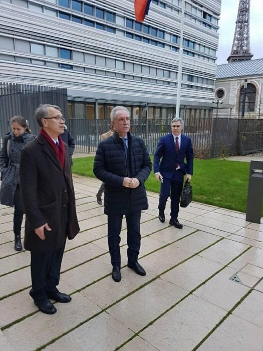 Губернатор Ульяновской области встретился с руководителем Русского духовно-культурного центра в Париже Леонидом Кадышевым - 1