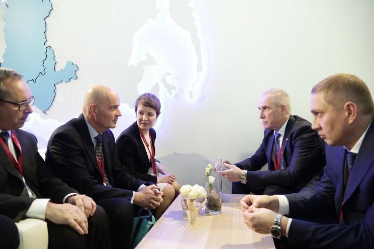 Карло Палашано Вилламаньей, губернатор Ульяновской области Сергей Морозов, Дмитрий Рябов