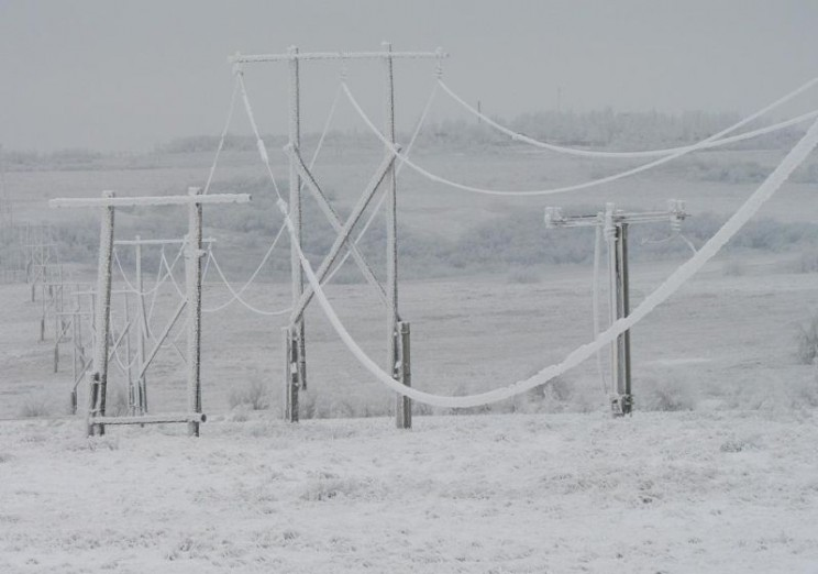 Метель ледяной дождь