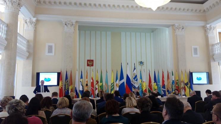 Михаил Семенкин на аппаратном совещании администрации губернатора и правительства Ульяновской области, 19 февраля 2018 года
