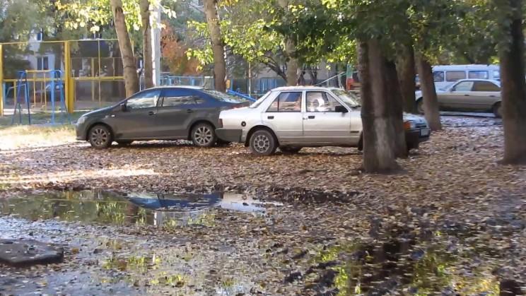 Парковка на газоне, https://upravdom-73.livejournal.com
