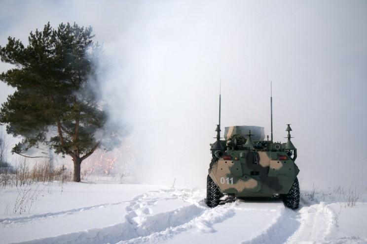 Ульяновские десантники провели учения с дронами и РЭБ, 21 февраля 2018 - 2