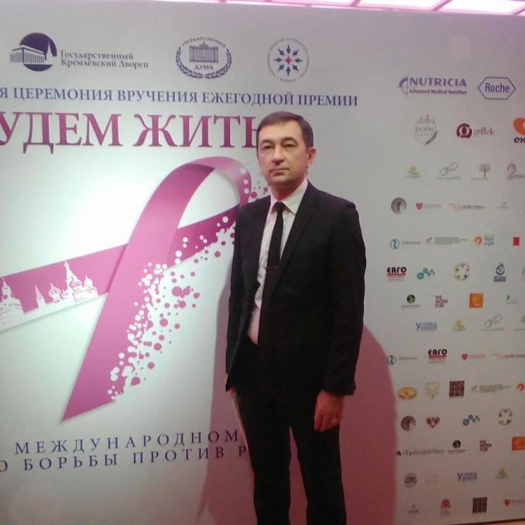 Ульяновский врач Марат Шарафутдинов признан лучшим специалистом в области онкологии в России