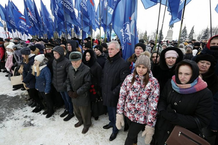 В Ульяновске прошел митинг, посвященной 75-летию Сталинградской битвы