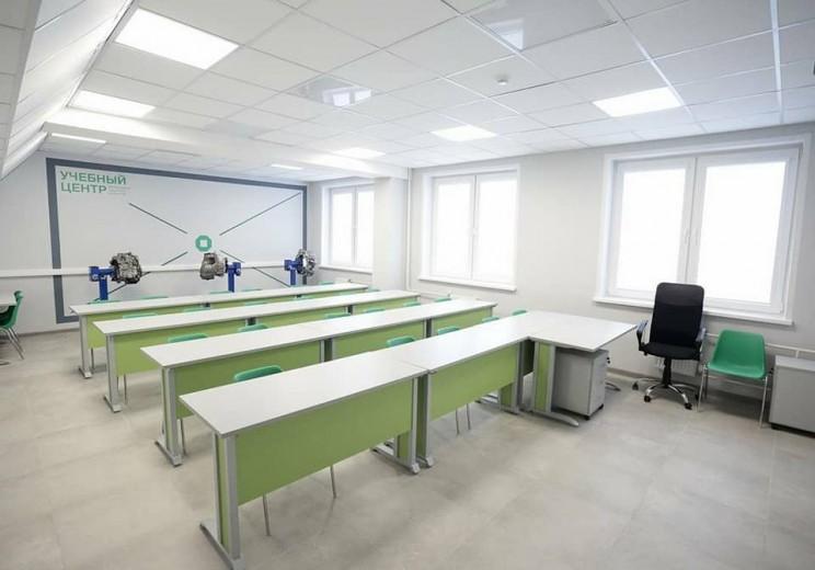В Ульяновском авиационном колледже – межрегиональном центре компетенций завершается капитальный ремонт - 2
