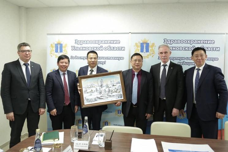 5 компаний из Китая приняли разместят своё производство в медицинском кластере Ульяновска 2