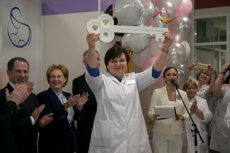 Анна Лебедько, главврач областной детской больницы