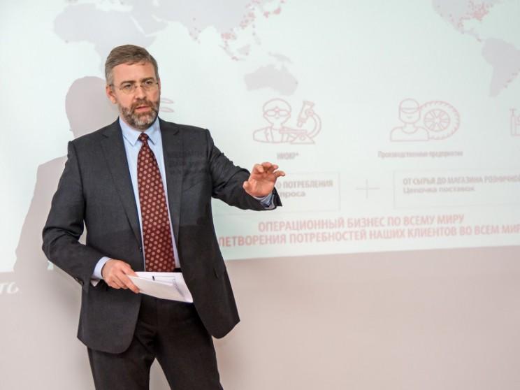 Джеффри Гловер, генеральный директор «Бриджстоун СНГ»