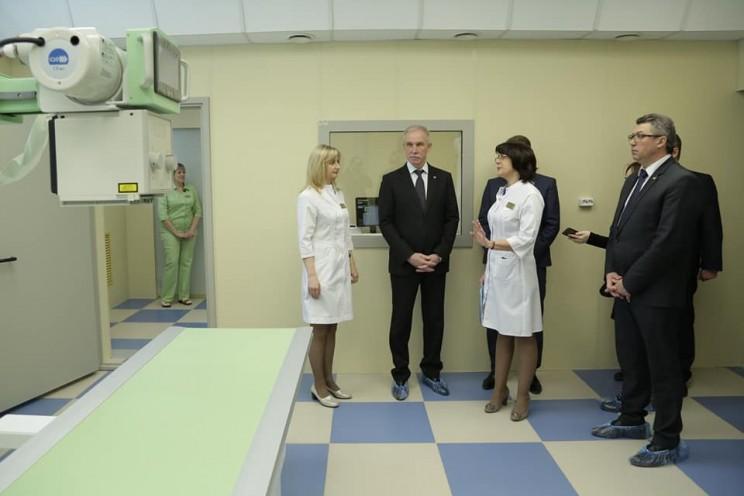 Губернатор Ульяновской области Сергей Морозов посетил Центр профпатологии и анонсировал, что 2019 год станет Годом нулевого травматизма - 1