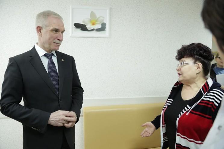 Губернатор Ульяновской области Сергей Морозов посетил Центр профпатологии и анонсировал, что 2019 год станет Годом нулевого травматизма - 2