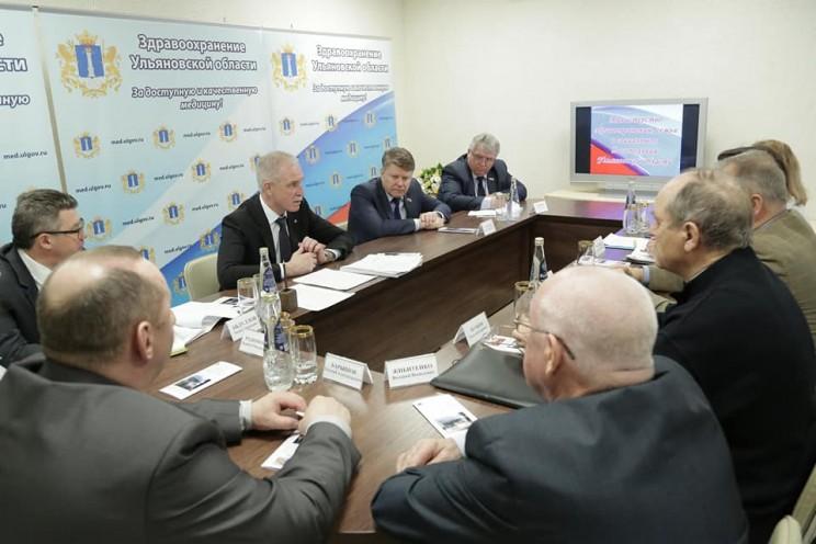 Губернатор Ульяновской области Сергей Морозов посетил Центр профпатологии и анонсировал, что 2019 год станет Годом нулевого травматизма - 4