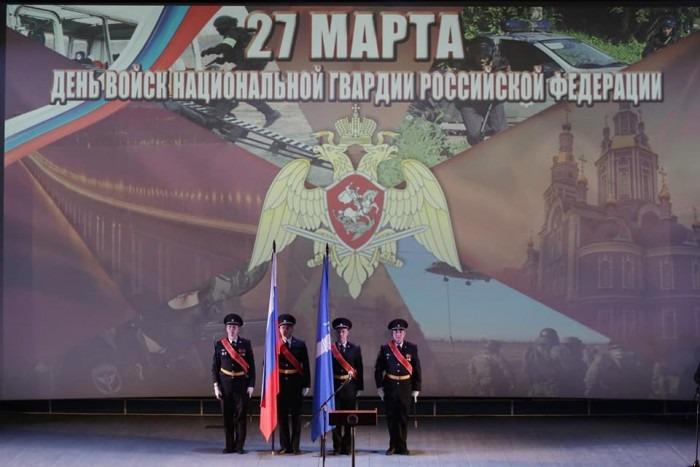 Губернатор Ульяновской области поздравил сотрудников Росгвардии с профессиональным праздником