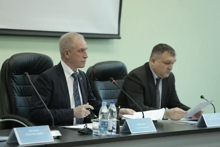 Сергей Морозов и Сергей Люльков, 29 марта 2018 года