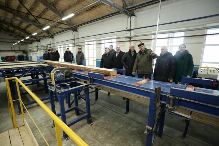 В Кузоватово открылся один из самых передовых и современных заводов по производству пиломатериалов - 2