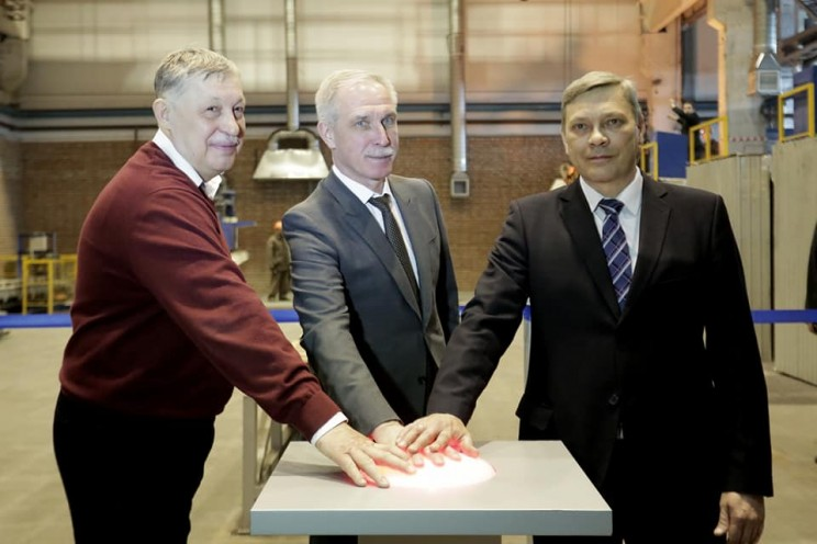 В Ульяновске введено в эксплуатацию чугунно-литейное производство сталелитейной компании «Памир» - 1