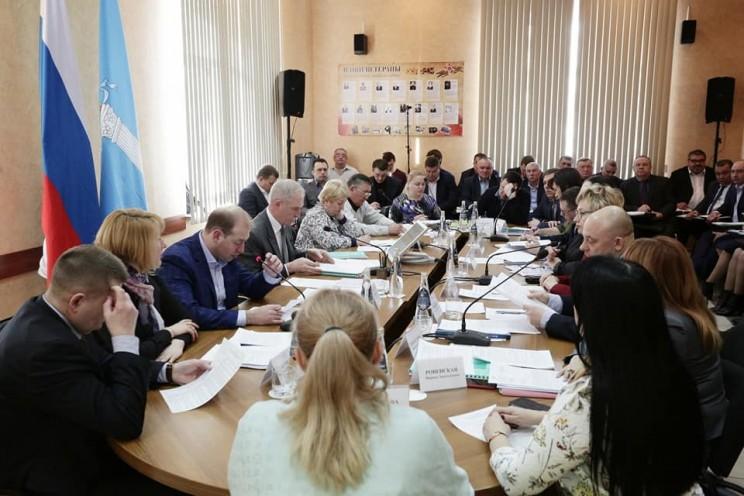 Заседание комиссии по продоволственной безопасности