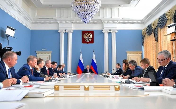 Заседание наблюдательного совета Агентства стратегических инициатив в Самаре, 7 марта 2018 года