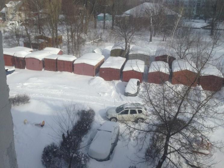 гаражи на Опытном поле