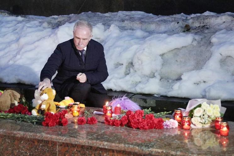 почтить память невинно погибших во время страшной трагедии, произошедшей в городе Кемерово - 2, 27 марта 2018